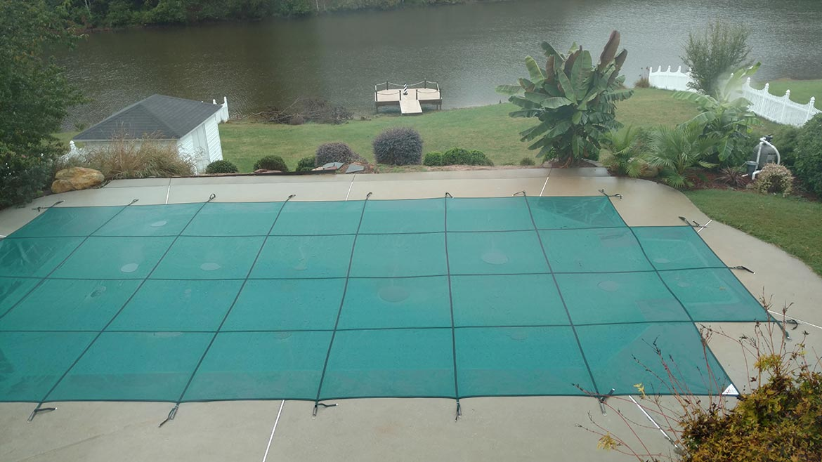 Projects - Pool Cover Installation